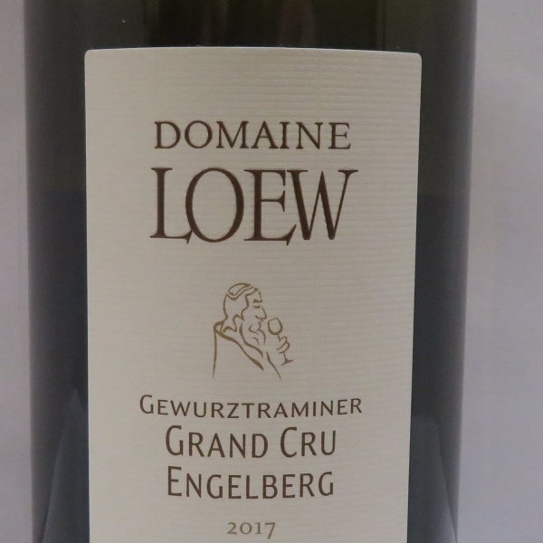 Domaine  Etienne Loew Gewurztraminer Gc Engelberg 2017
