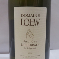 Domaine  Etienne Loew Pinot Gris Bruderbach Le Menhir 2018