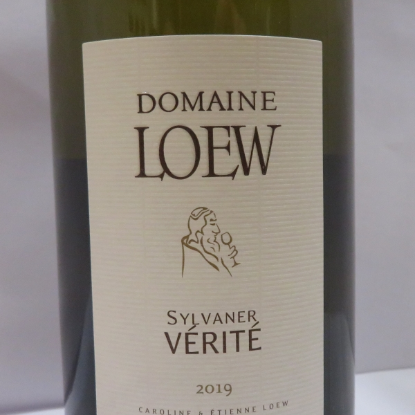 Domaine  Etienne Loew Sylvaner Verite 2019