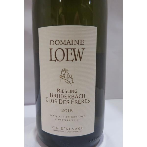 Domaine  Etienne Loew Riesling Bruderbach Clos Des Freres 2018