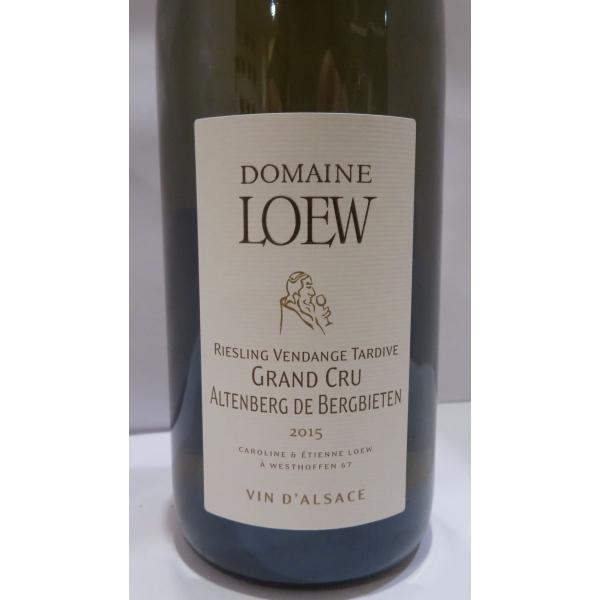 Domaine  Etienne Loew Riesling Vt Gc Altenberg De Bergbieten 2015