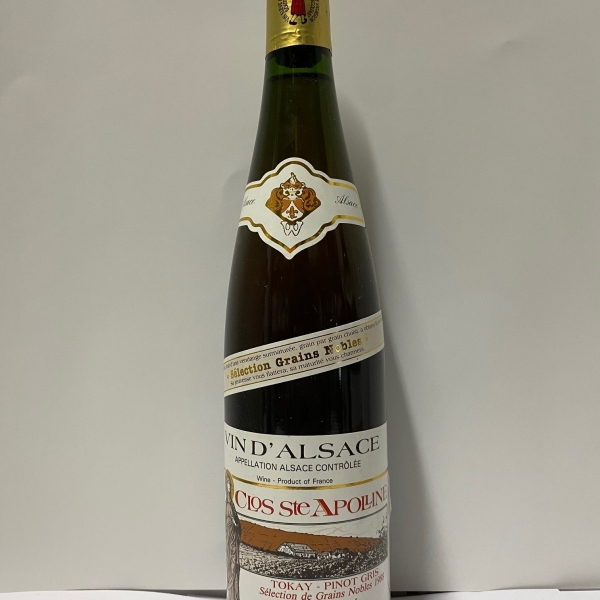Domaine  Bollenberg Clos Ste Apolline Sgn Tokay-Pinot Gris 1988