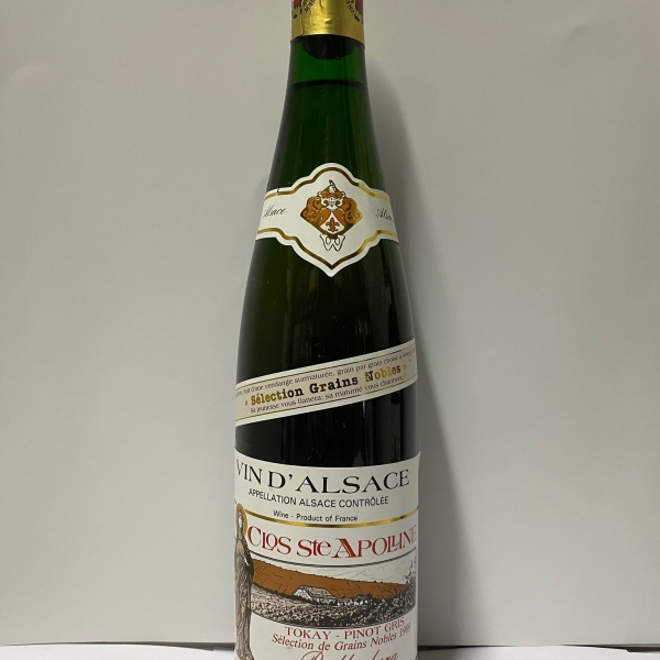 Domaine  Bollenberg Clos Ste Apolline Sgn Tokay-Pinot Gris 1989