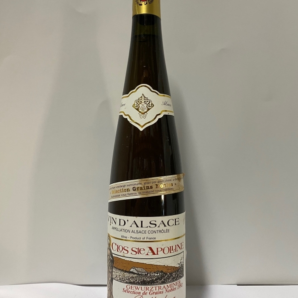 Domaine  Bollenberg Clos Ste Apolline Sgn Gewurztraminer 1992
