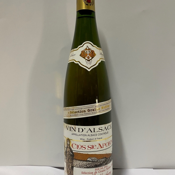 Domaine  Bollenberg Clos Ste Apolline Sgn Riesling 1988
