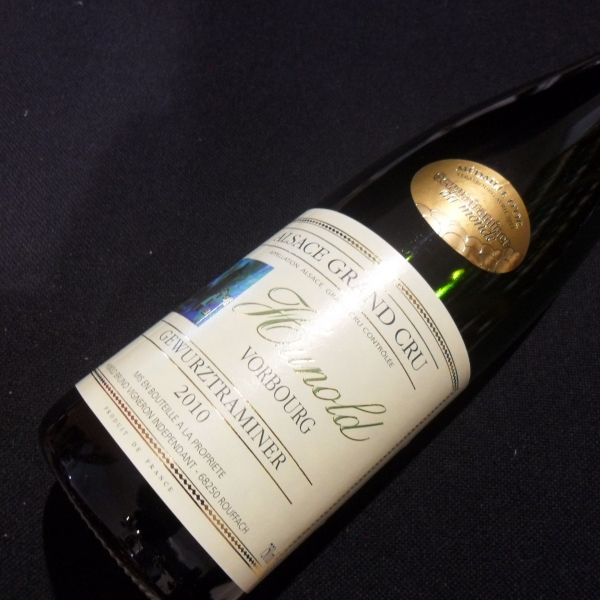 Domaine  Hunold Gc Vorbourg Gewurztraminer Med D'or 2010