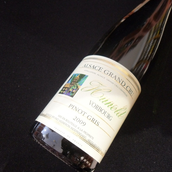 Domaine  Hunold Gd Cru Vorbourg Pinot Gris 2009