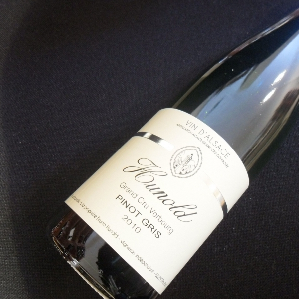 Domaine  Hunold Gd Cru Vorbourg Pinot Gris 2010