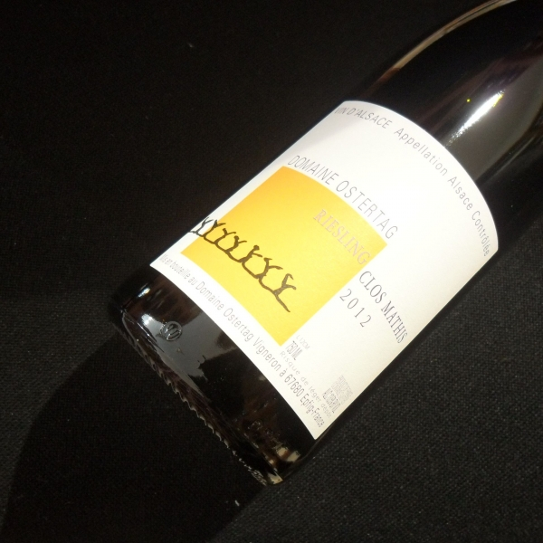 Domaine  Ostertag Clos Mathis Riesling 2012