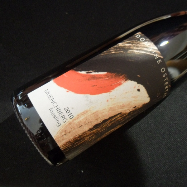 Domaine  Ostertag Muenchberg Riesling 2010
