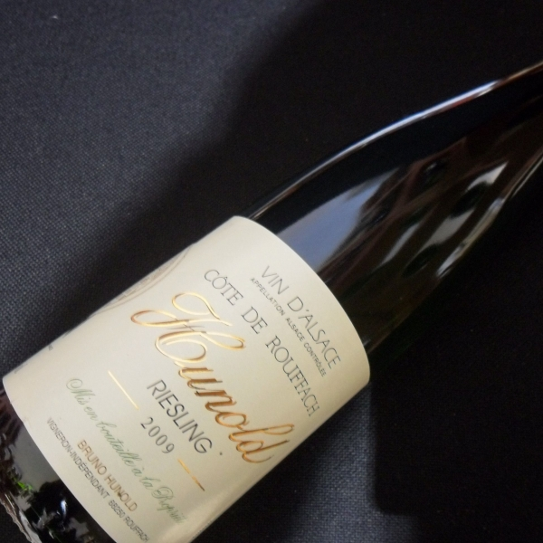 Domaine  Hunold Cote De Rouffach Riesling 2009