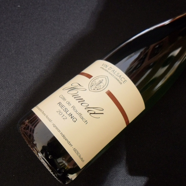 Domaine  Hunold Cote De Rouffach Riesling 2012