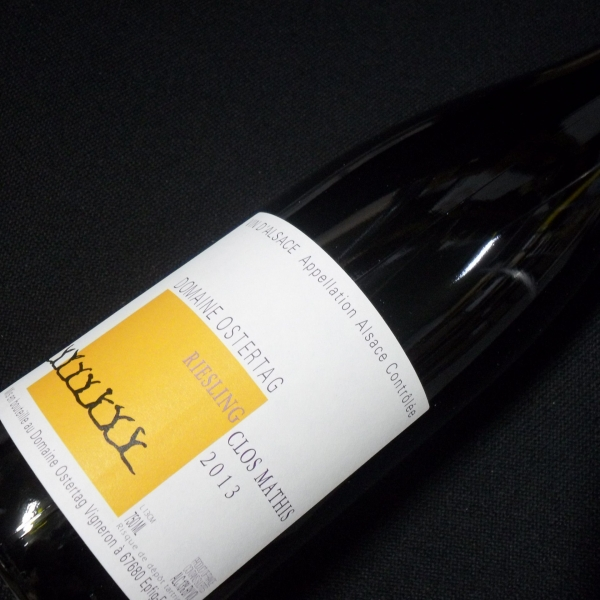Domaine  Ostertag Clos Mathis Riesling 2013