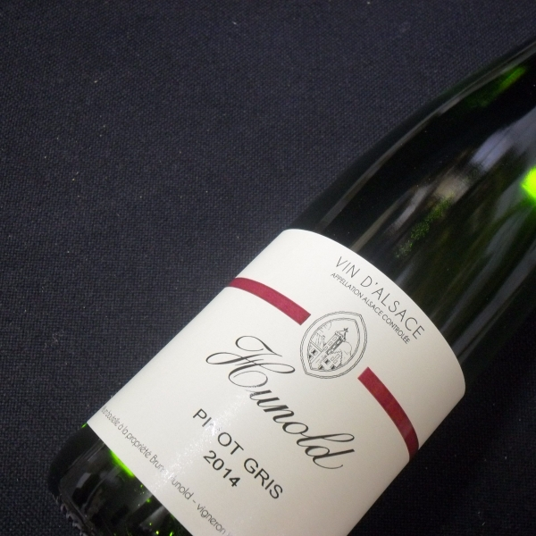 Domaine  Hunold Pinot Gris 2014