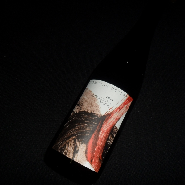 Domaine  Ostertag Muenchberg Riesling 2014