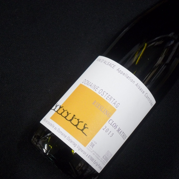 Domaine  Ostertag Clos Mathis Riesling 2015