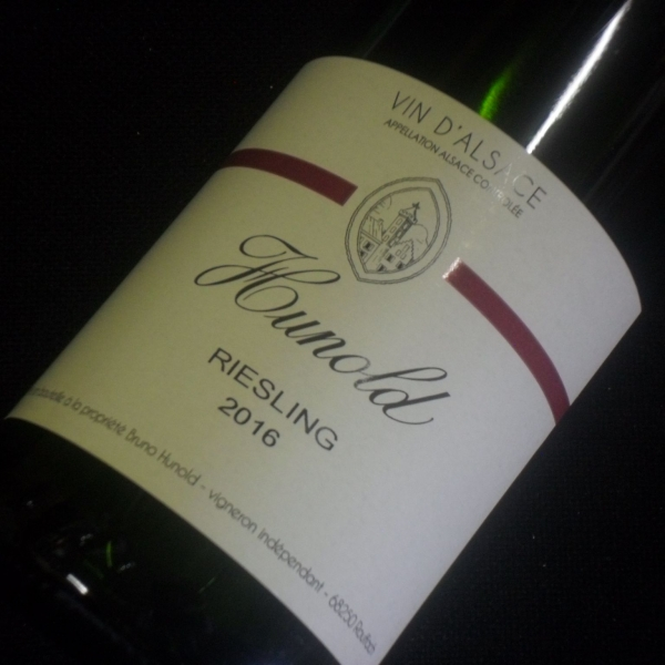 Domaine  Hunold Riesling 2016