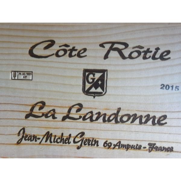 Domaine  Gerin La Landonne Cote Rotie 2015