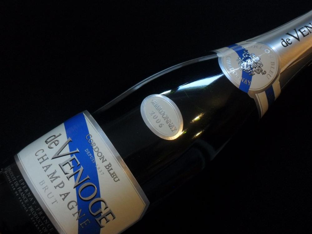 domaine de venoge cordon bleu blanc de blancs 2006 vins champagne france la cave de l 39 ill. Black Bedroom Furniture Sets. Home Design Ideas