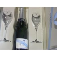 Domaine de Venoge Cordon Bleu Coffret Prestige + 2 Flutes