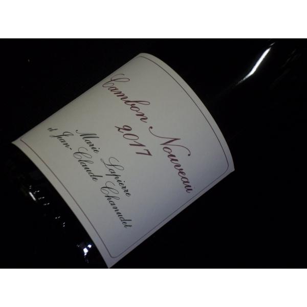 Château  Cambon (Marie Lapierre & Jc Chanudet) Beaujolais Nouveau 2017