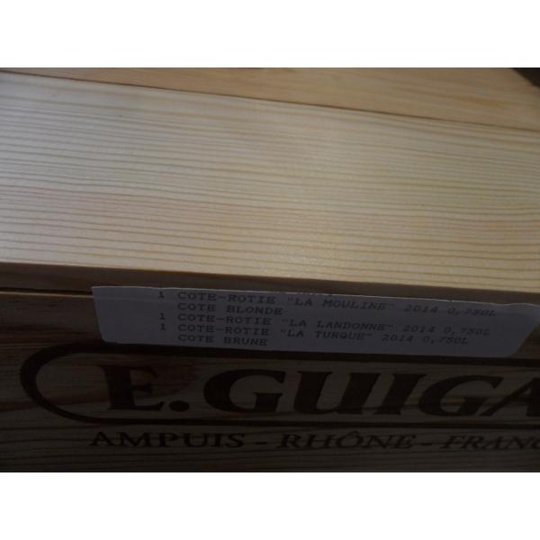 Domaine  Guigal Cote Roti Trilogie 1T/1M/1L (Caisse Bois 3Blles) 2014