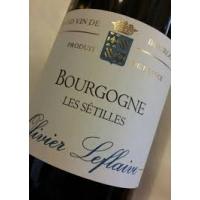 Olivier Leflaive Les Setilles Bourgogne Blanc 2016