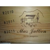 Domaine  Mas Jullien  Caisse 6Blles 2010/2011 Autour Jonquieres 2013