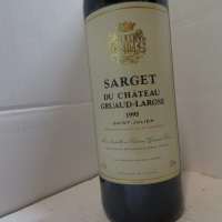 Château  Sarget De Gruaud 1995