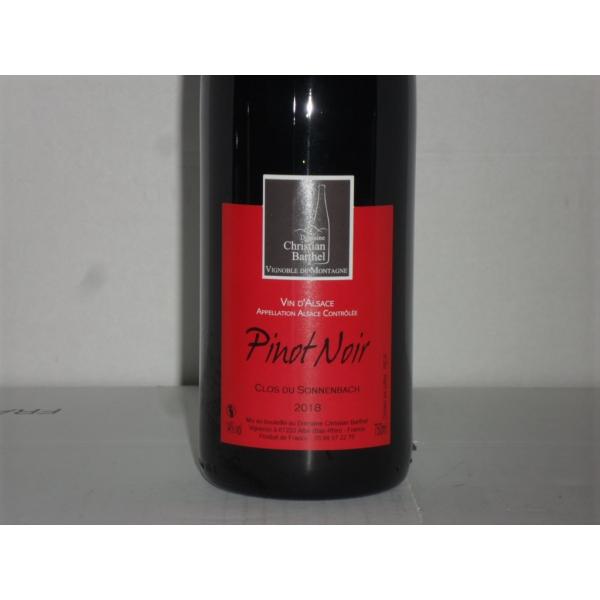 Domaine  Barthel Pinot Noir Clos Sonnenbach 2018
