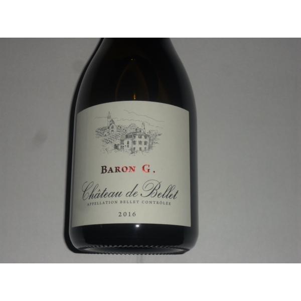 Château de Bellet Baron G Blanc 2016