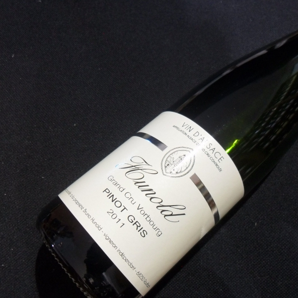 Domaine  Hunold Gd Cru Vorbourg Pinot Gris 2011