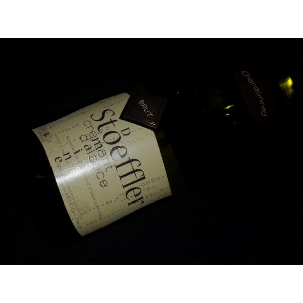Domaine  Vincent Stoeffler Cremant D'alsace Chardonnay Blanc  Blancs