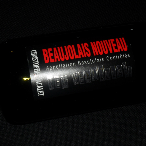 Domaine  Pacalet Beaujolais Nouveau 2019