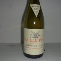 Château  Rayas Blanc 2007
