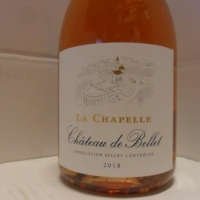 Château de Bellet La Chapelle Rose 2018