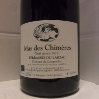 Domaine  Mas Des Chimeres Nuit Grave 2012