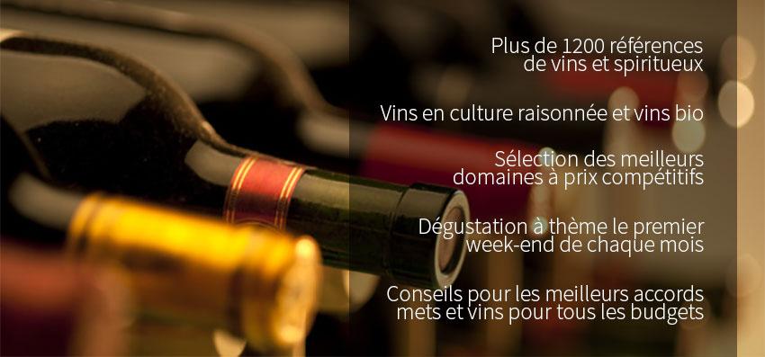 Caviste, cave à vins à Brunstatt en Alsace